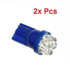2x T10 168 194 501 W5W Blue Car 7 Smd LED Wedge Side Light Bulb Lamp DC 12V