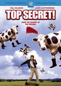 Top Secret (DVD, 2002) Comedy Val Kilmer_Region 4 Rare Australian Release