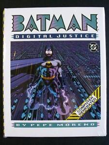 BATMAN DIGITAL JUSTICE BY PEPE MORENO 1990, COMPUTER GENERATED