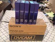 Sony PDVM-40N  Mini DV Cam Tapes - Lot of 15