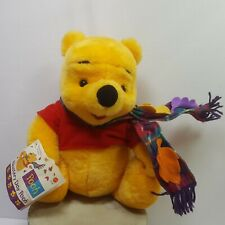 Mattel Blustery Day Winnie The Pooh Bear Vintage 11 Inches Tall Toy Plush