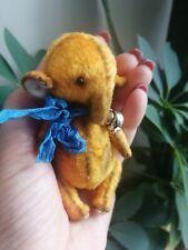 teddy elephant, 3,7 inches, Soviet plush