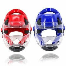 Removable Sport Helmet Mask Taekwondo Boxing Training Helmets Adults Children