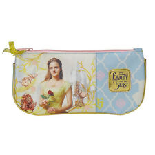 Beauty and The Beast Pencil Case Flat Girls Golden Disney Stationery Case