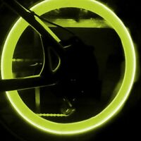 Yellow LED Flash Light For Bicycle Motorcycle Car Bike Tyre Wheel Valve Lamp