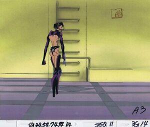 AEON FLUX Original Production Cel Cell Animation Art MTV Liquid TV 90's Full Bod
