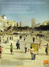 Publicité advertising 2007 Open Orange France Telecom