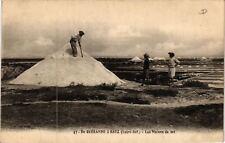CPA  De Guérande  á Batz (Loire-Inf.) - Les Mulens de sel  (654066)