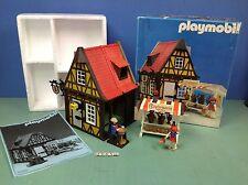 (O3455) playmobil maison du potier chateau médiéval ref 3455 3666