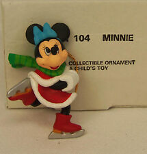 Groiler Disney MINNIE MOUSE Ice Skating Christmas Magic Ornament 104 MINT in BOX