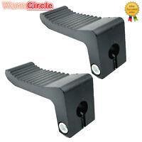 43CC 47CC 49CC MINI POCKET BIKE MINI PIT BIKE CNC BLACK FOOTPEGS FOOT PEG PEGS