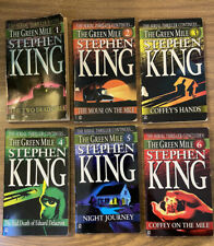 The Green Mile by Stephen King: The Serial, Parts 1 - 6 1st Edition 1st Print
