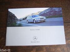 Mercedes Benz C-Klasse Klasa C Kombi (S203), Prospekt / Brochure, PL, 2002