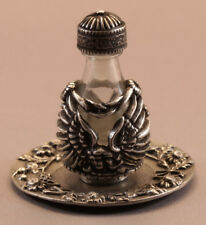 Pewter Angel Tear Bottle With Tray #3019-6027
