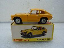 DINKY TOYS FRANCE REF 1408 HONDA S 800 QUASI NEUVE + BOITE D ORIGINE