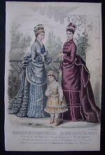 ) A4 - gravure mode Magasin des demoiselles - Robin, Bracquet - 1874