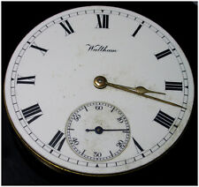 Waltham Pocket Watch Movement Traveler c1907 Clean spares or repairs