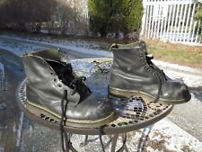 """Dr Martens Steel Toe 6"""" Leather Boots / Size: 11 R / Made in England / Pre-owned"""