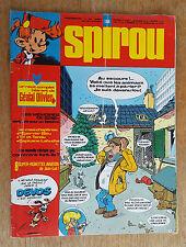 SPIROU N°1998 / DU 29 JUILLET 1976 / AVEC VIGNETTES AVIATION / B.