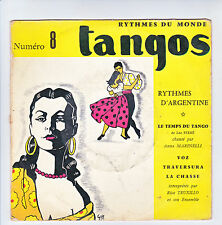 Rico TRUXILLO Anna MARINELLI 45T EP TEMPS TANGO Léo Ferré Rythmes Argentine RARE