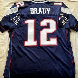 Tom Brady New England Patriots authentic Reebok Super Bowl 38 game model jersey