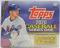 2020 Topps Series 1 Baseball FACTORY SEALED Jumbo Box - SCA