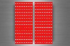 Set 280 x sticker adesivo adesivi alfabeto numero scrapbooking lettere r9
