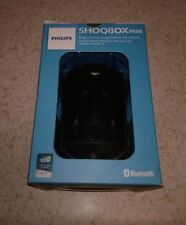 NEW Philips Shoqbox Mini Wireless Waterproof Bluetooth Portable Speaker (Black)