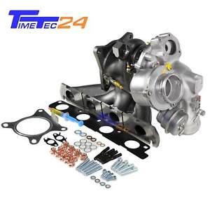 Turbolader AUDI VW SEAT SKODA 2.0 TFSI 200PS AXX 53039700086 06F145701F