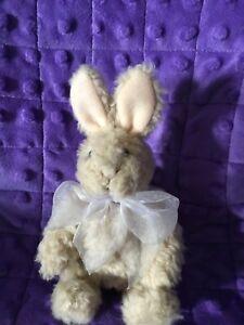"North American Bear Co. Fuzzy Wuzzy Wuzza Hare Rabbit 6"" made 1990"