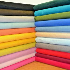 23 Colours Plain Corduroy Babycord 21 wale 100% Cotton Fabric Needlecord