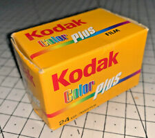 A roll of Kodak Color PLUS 200asa 24exp 35mm film, Boxed, dated 06/2008