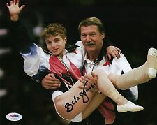 Bela Karolyi Signed 8x10 Photo *Gymnastics Hall Of Fame PSA AC63879