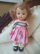 Vintage Storybook Doll California Muffie Walker Straight Leg