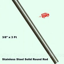 Stainless Steel Solid Round Rod 38 X 3 Ft 316 Unpolished Stock 36 Long