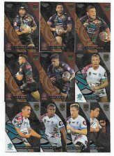 2017 NRL Elite World & Indigenous Stars FULL SET 10 Box Cards