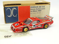 AMR Kit Monté 1/43 - Ferrari 512 BB Bellancauto Le Mans 1980 N°79
