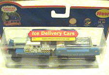 Thomas And Friends Wooden Railway Retired Ice Delivery Cars  NIP LEARING CURVE