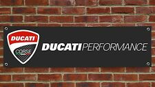 BR86 DUCATI PERFORMANCE DARK BANNER 996 998 1098 PANIGALE SPS 888 GARAGE SIGN