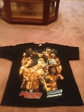 Wwe Smack Down 2007 John Cena The Undertaker Wrestling Black T Shirt Xl