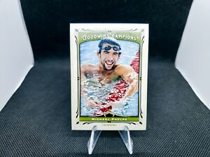 Michael Phelps 2013 Upper Deck Goodwin Champions Olympic Gold Medal Winner #92