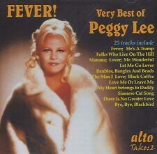[BRAND NEW] CD: PEGGY LEE: FEVER! VERY BEST OF PEGGY LEE