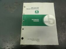 John Deere 920 And 930 Mower Conditioners Technical Manual Tm1548