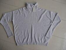 COS - Damen Kaschmir-Pullover Gr. M (Oversize) grau
