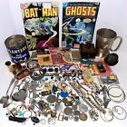 Junk+Drawer+Lot+Vintage+Comic+Books+Jewelry+Watches+Knife+Silver-plate+Tokens