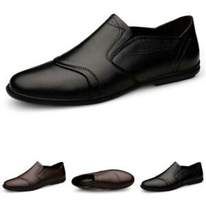 Mens Business Leisure Shoes Slip on Pumps Loafers Driving Moccasins Comfy Work L