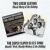Chuck Berry, Bo Diddley - Two Great Guitars/Super Super Blues Band (1997) CD NEW