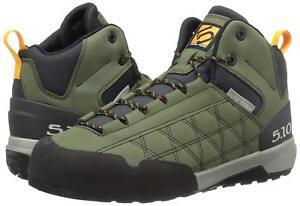 Five Ten Men's Guide Tennie Mid Hiking Boot Base Green Approach Shoe