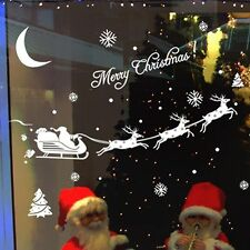 Decor Christmas Home Christmas Stickers Decal Decoration Window
