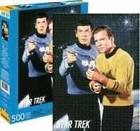 Star Trek Kirk & Spock 500 Pièce Puzzle 480mm x 350mm (NM)